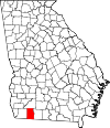 Map of Georgia highlighting Grady County.svg