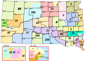 Map of South Dakota's legislative districts with counties.svg