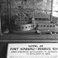 Maquette van Fort Nassau bij voormalig Nieuw Amsterdam - 20652754 - RCE.jpg