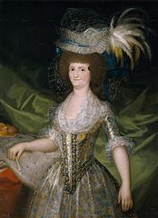 Queen of Spain Maria Louisa, née Bourbon-Parma