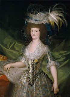 Maria Luisa of Parma Queen consort of Spain from 1788 to 1808