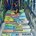 María Paz Latorre sitting on stairs.jpg