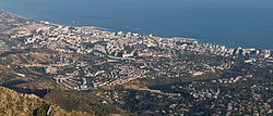 Skyline of Marbella