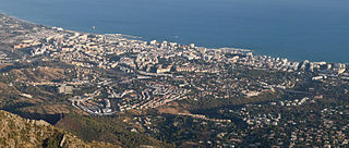 Marbella Municipality in Andalusia, Spain