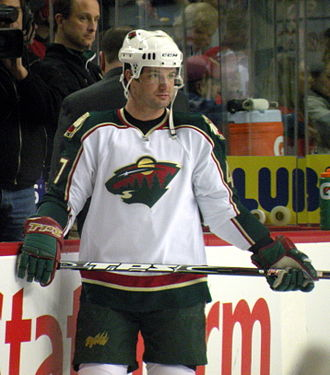 Marc-André Bergeron - Bergeron during his time with the Minnesota Wild