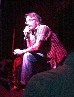 Marc Maron performing in Minneapolis in July 2010
