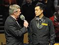 Marco Fu and Rolf Kalb at Snooker German Masters (DerHexer) 2013-02-03 01.jpg