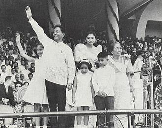 Imelda Marcos - Image: Marcos 1st Inauguration