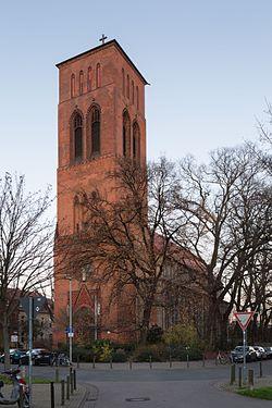 Marienkirche church Marschnerstrasse Nordstadt Hannover Germany .jpg