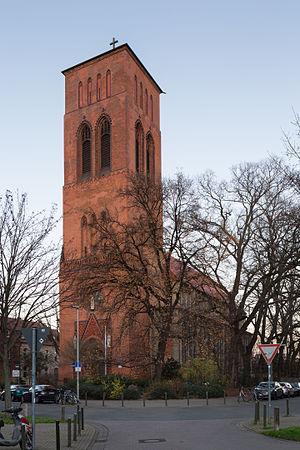Ludwig Windthorst - Rebuilt Marienkirche, Hanover