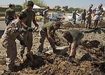 Marines recover, clean debris from Harrier crash in California 140609-M-HL954-312.jpg