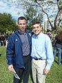 Mario Cristobal and Rep. David Rivera.jpg