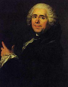 Portrait de Marivaux peint par Louis-Michel van Loo.
