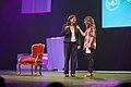 Marja van Bijsterveldt en Lisa Wade nieuwe Luxor theater.jpg