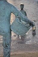 Marsaxlokk Harbour statue.jpg