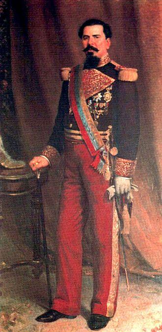 Joaquín Crespo - Portrait by Martín Tovar y Tovar