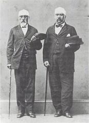 Martin and Moehonua, injured survivors of Honolulu Courthouse Riot of 1874.jpg