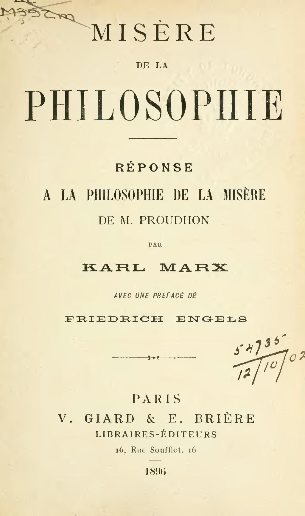 Page:Marx - Misère de la philosophie.djvu/7 - Wikisource