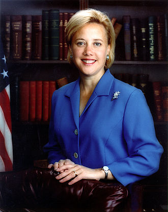 Mary Landrieu - Landrieu, an earlier portrait as United States Senator from Louisiana