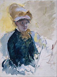 Mary Stevenson Cassatt - Mary Cassatt Self-Portrait - Google Art Project.jpg