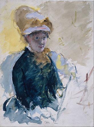 Little Girl in a Blue Armchair - Image: Mary Stevenson Cassatt Mary Cassatt Self Portrait Google Art Project