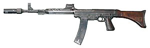 English: Maschinenkarabiner 42 (Mkb 42W), Germ...