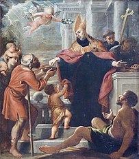 Saint Thomas of Villanova Giving Alms
