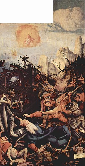 Mathis der Maler (opera) - The temptation of St. Anthony from the Isenheim Altarpiece