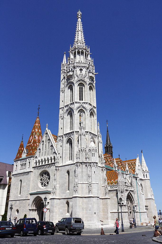 Eglise Matyas à Budapest : Un lieu de culte à l'histoire riche - photo de D4m1en