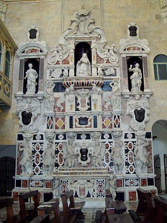 Cagliari Cathedral - Mausoleum of Martin I of Sicily