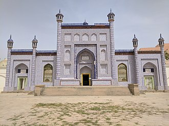 Yūsuf Balasaguni - Image: Mausoleum of Yusuf Khass Hajib main building