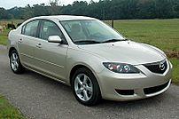 2006 US-spec Mazda3 i sedan