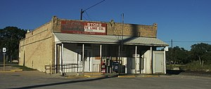 McNeil, Texas - Post Office and Austin White Lime Company Store
