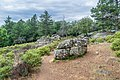 Megalithic park near St Michael priory of Grandmont 03.jpg