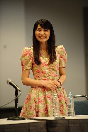 Megumi Nakajima - Megumi Nakajima at Anime Expo 2010 in Los Angeles, July 2010