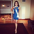 Mekayla, Miss Indiana USA 2014 interview outfit.jpg
