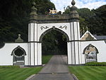 Meldrum House gate 01.JPG