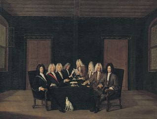 The emissaries of the peace congress of Baden on september 7th, 1714