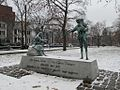 Memorial to the Great Hunger in Ireland, Cambridge Common, Cambridge MA.jpg