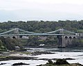 Menai bridge from viewpoint on A5 - geograph.org.uk - 483709.jpg