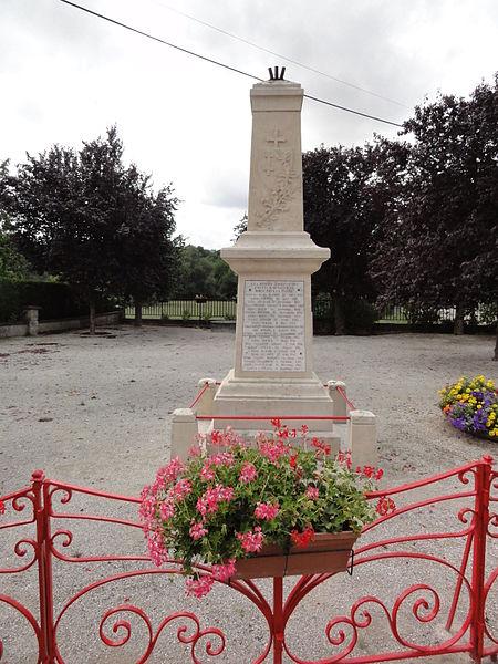 Menaucourt (Meuse) monument aux morts