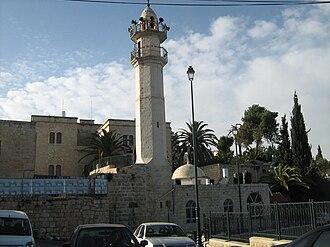 Abu Ghosh - The historic mosque of Abu Ghosh