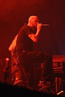 Meshuggah, Jens Kidman at Wacken Open Air 2013.jpg