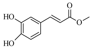 Methyl caffeate - Chemical structure of methyl caffeate