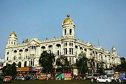 Edificio metropolitano vicino a Chowringhee, Calcutta