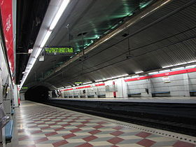 Image illustrative de l'article Urgell (métro de Barcelone)