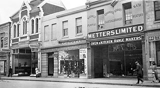 Metters Limited - Metters office and showroom Rundle Street, Adelaide, c. 1923