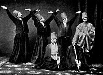 Mevlevi Order - Mevlevi dervishes, 1887