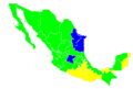 Mexican Presidential Election, 2012 States Map.png