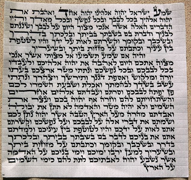 photo about Mezuzah Scroll Printable referred to as History:Mezuzah scroll sepharad legitimate entrance.JPG - Wikimedia Commons